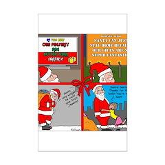 Santa Gets No Respect Posters