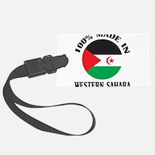 Made In Western Sahara Luggage Tag