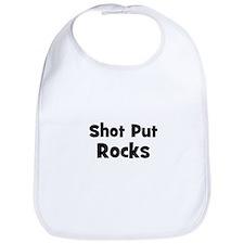 SHOT PUT Rocks Bib