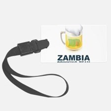 Zambia Drinking Team Luggage Tag