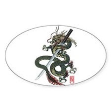 Dragon katana Decal