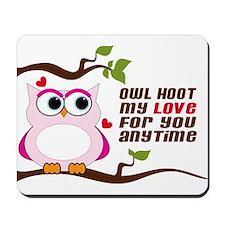 Owl Hoot Mousepad