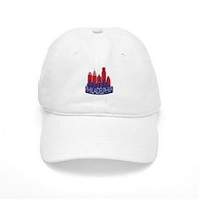 Philly Skyline Newwave Patriot Baseball Cap