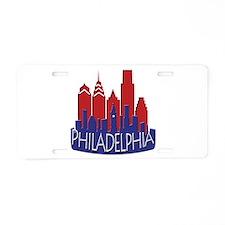 Philly Skyline Newwave Patriot Aluminum License Pl