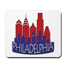 Philly Skyline Newwave Patriot Mousepad