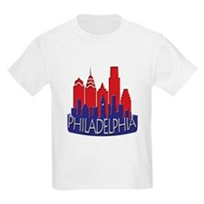 Philly Skyline Newwave Patriot T-Shirt