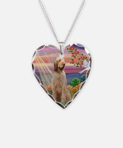 Funny Italian spinone Necklace