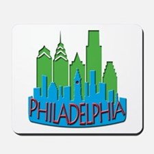 Philly Skyline Newwave Primary Mousepad