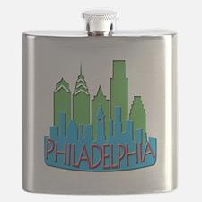 Philly Skyline Newwave Primary Flask