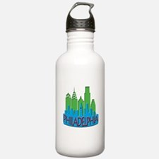 Philly Skyline Newwave Primary Water Bottle