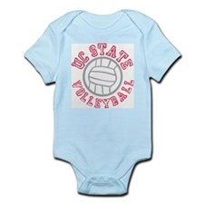 UC State Volleyball Infant Creeper