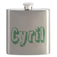 Cyril centered Flask