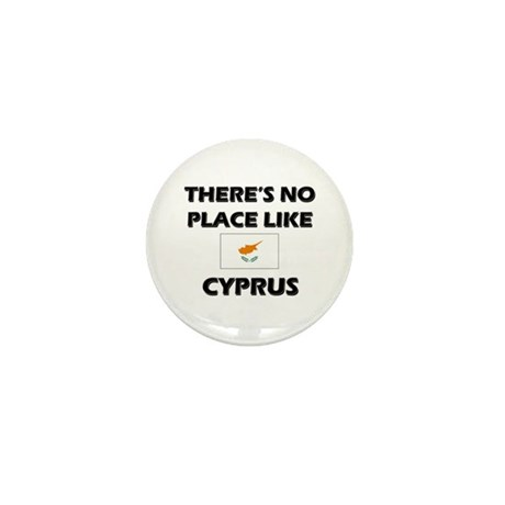 There Is No Place Like Cyprus Mini Button