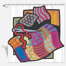 Quilting Shower Curtain