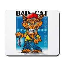 Twisted Toons - Bad Cat Mousepad