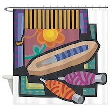 Weaving Shower Curtain