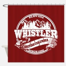Whistler Old Circle Shower Curtain