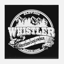 Whistler Old Circle Tile Coaster