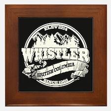 Whistler Old Circle Framed Tile