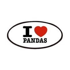 I love Pandas Patches