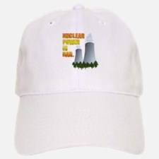 Nuclear Power is Rad. Baseball Baseball Cap