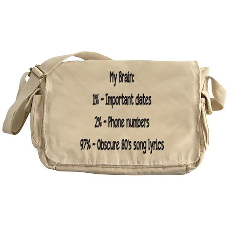 My Brain Messenger Bag