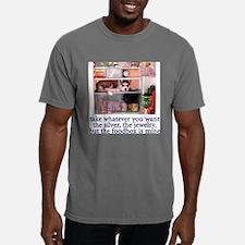 Unique Bulldog mens Mens Comfort Colors Shirt