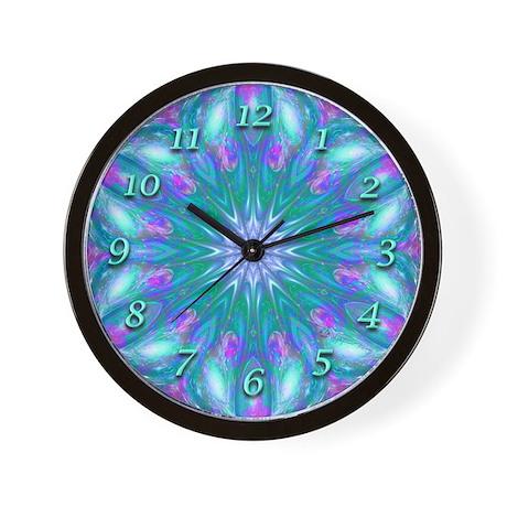 Kaleidoscope Clock Living Room