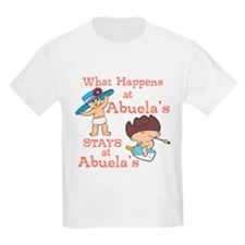 What Happens at Abuela's T-Shirt