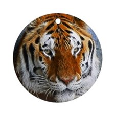 Tiger Ornament (Round)