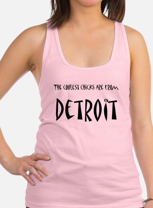 Coolest Chicks from Detroi Tank Top