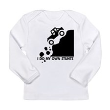 Hill Jeep I Do My Own Stunts Long Sleeve T-Shirt