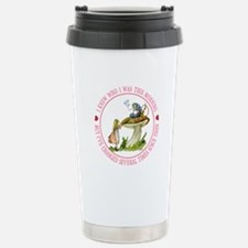 I Knew Who I Was This M Stainless Steel Travel Mug