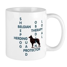 Belgian sheepdog Crossword Mug