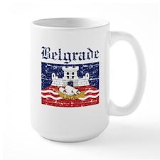 Flag Of Belgrade Design Mug