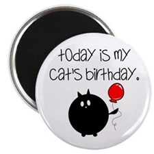 My Cats Bday Magnet