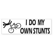 Bike, Bike, Funny Bike Stunts Bumper Bumper Sticker