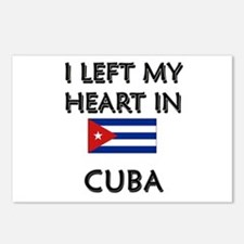 I Left My Heart In Cuba Postcards (Package of 8)