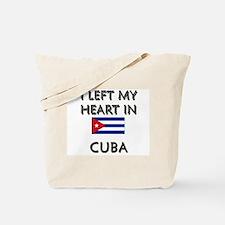 I Left My Heart In Cuba Tote Bag