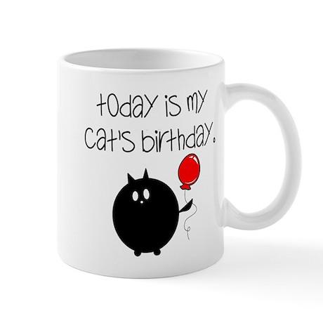 My Cats Bday Mug