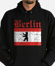 Flag Of Berlin Design Hoodie
