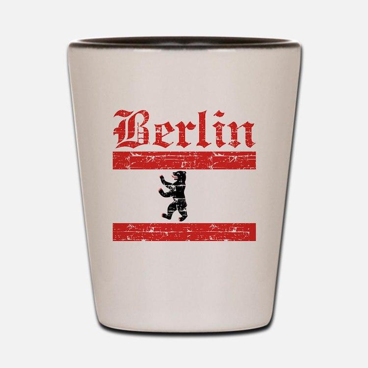 Flag Of Berlin Design Shot Glass