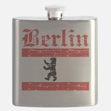 Flag Of Berlin Design Flask