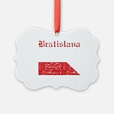 Flag Of Bratislava Design Ornament