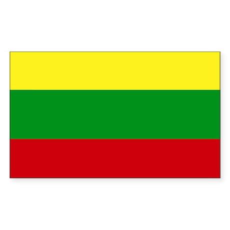 Lithuania Rectangle Sticker