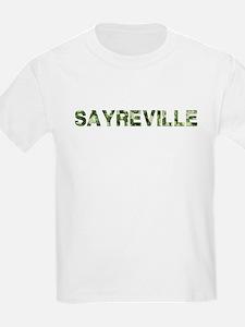 Sayreville, Vintage Camo, T-Shirt