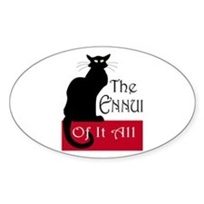 The Ennui Cat Decal