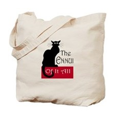 The Ennui Cat Tote Bag