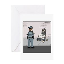 Cute Bums Greeting Card