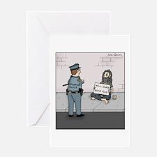 Cool Grammar police Greeting Card